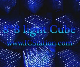 3D LightSquared 8x8x8 LED Cube Soldering Steps