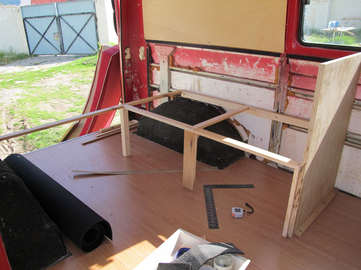 Picture of The Sofa/bed Structure