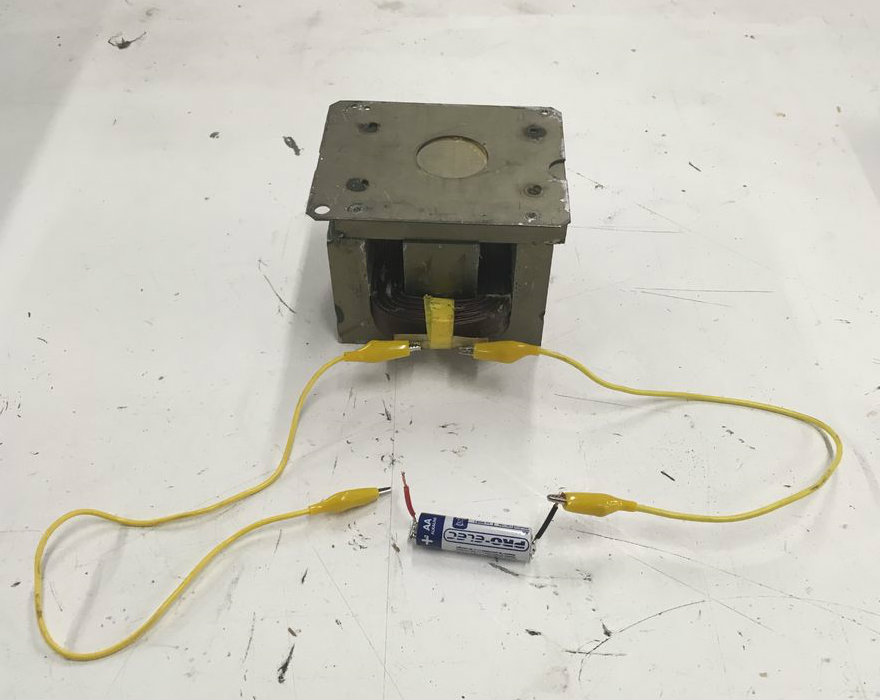 Picture of Find a DC Power Supply or Battery and Connecting Wires