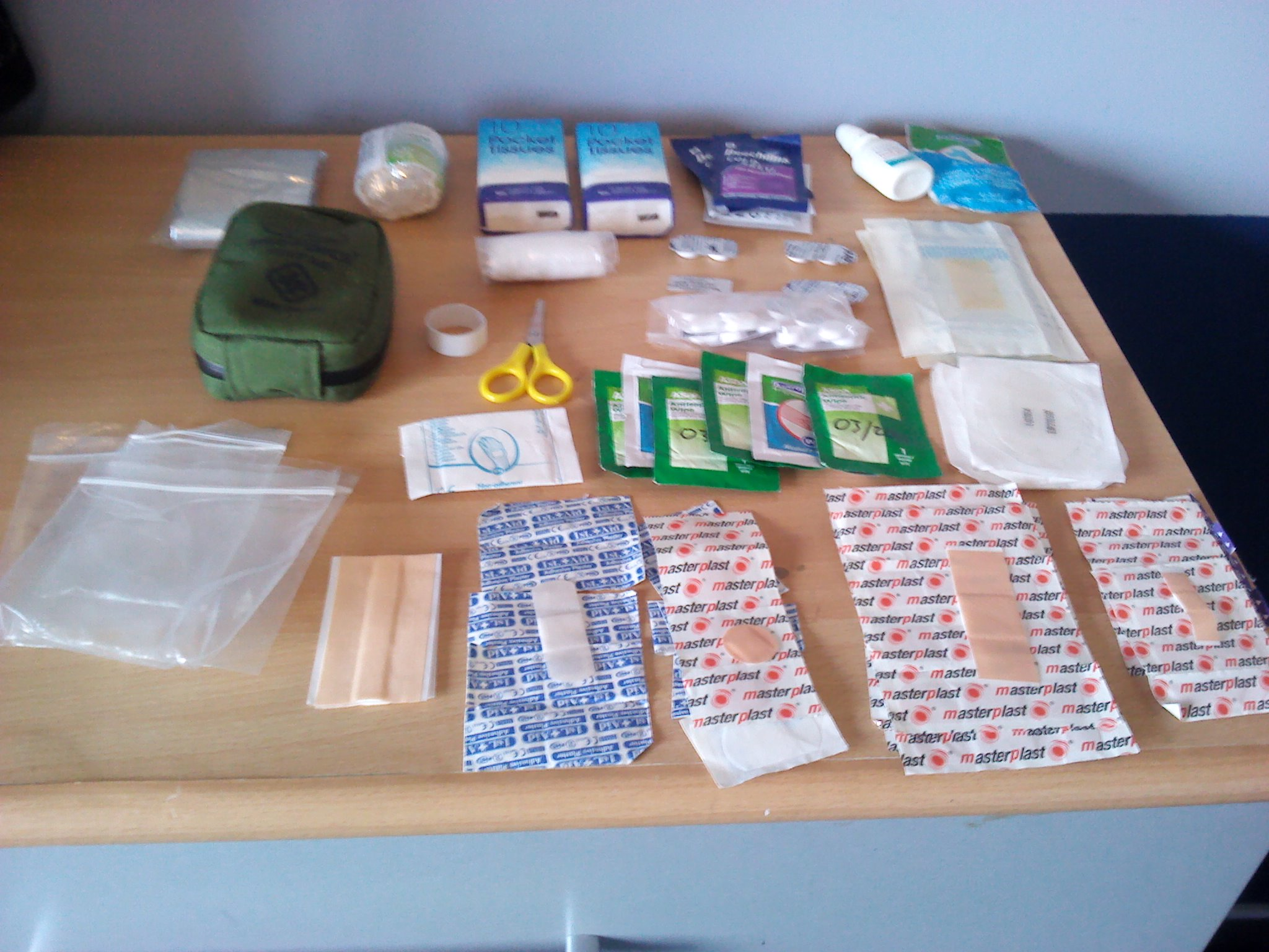 Picture of My EDC First Aid Kit