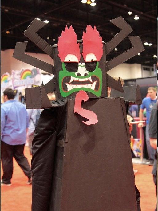"How to Make a Lego Samurai Jack ""Aku"" Costume"