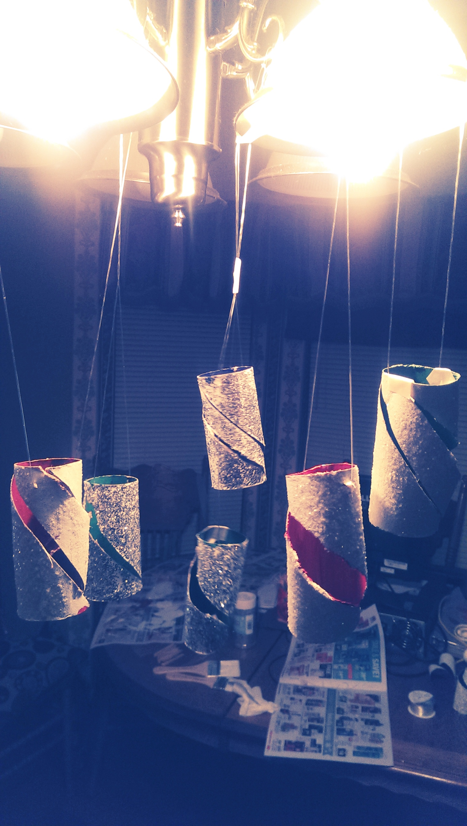 Picture of Christmas Lanterns