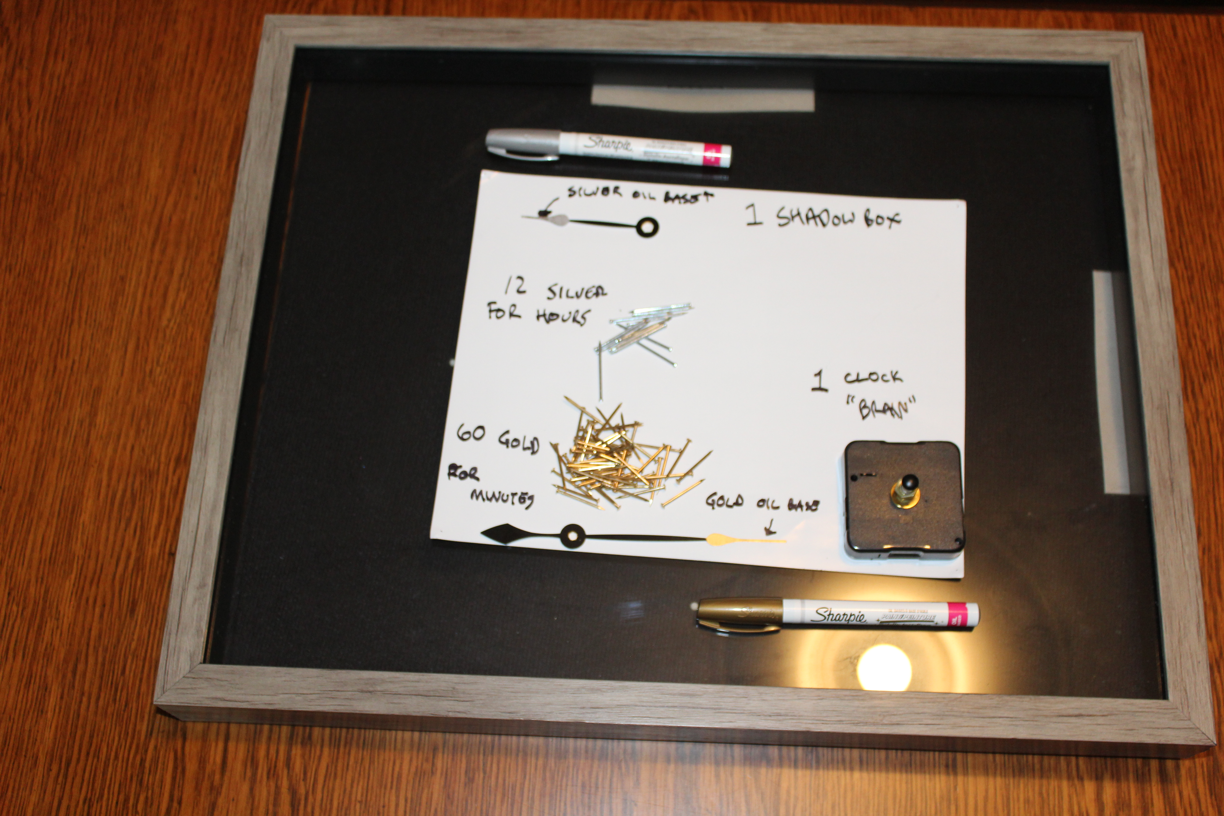 Picture of Materials & Tools Used