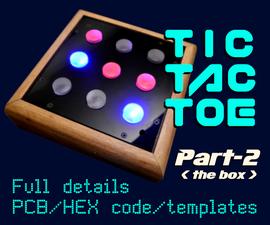 Tic-Tac-Toe Part-2  ( PIC16F627A )