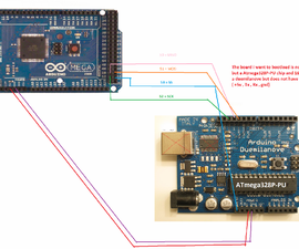 How to use Arduino Mega 2560 as Arduino isp