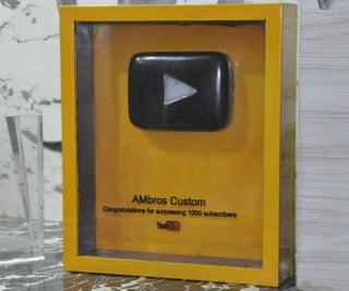 Granite Youtube Play Button