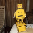 Yellow instructables ROBOT