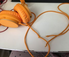 UrbanEars Plattan Headphone Cord Repair
