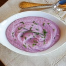 Purple Cauliflower Puree