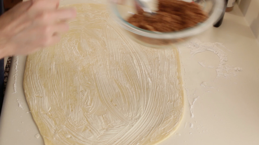 Brush the Top With Flour and Add Filling