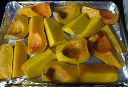 Roast Butternut Squash and Apples