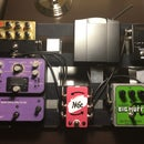 Pedalboard With Built-In PSU