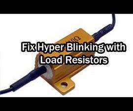 Fix Hyper Flash or Hyper Blink LED Lights on Motorcycles