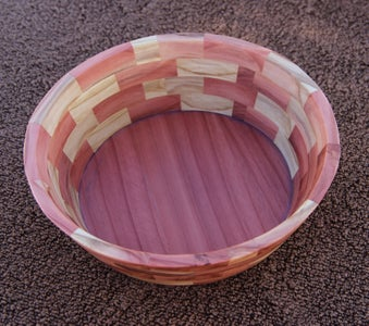 How to Make an Angled Segmented Bowl With Your Bandsaw
