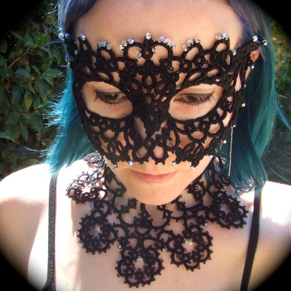Tatted Mask