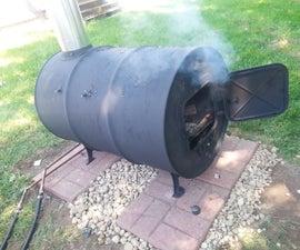 Wood Burning Pool Heater - Great for suburban pools