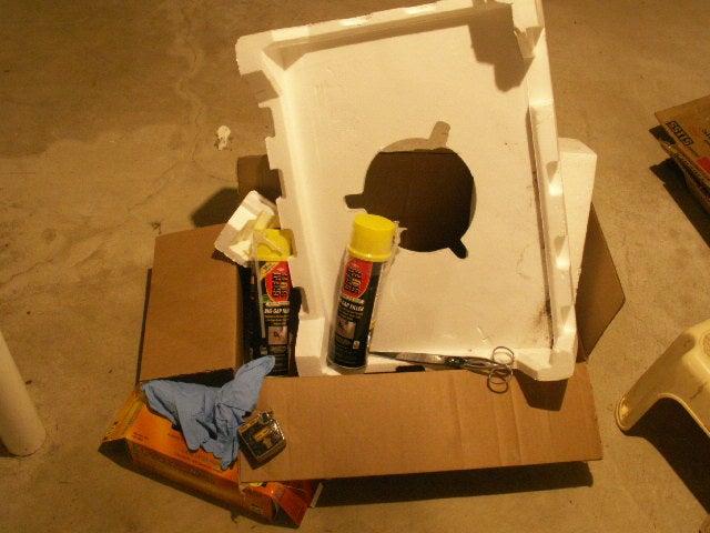 Recycled Styrofoam Block Insulation 4 Steps