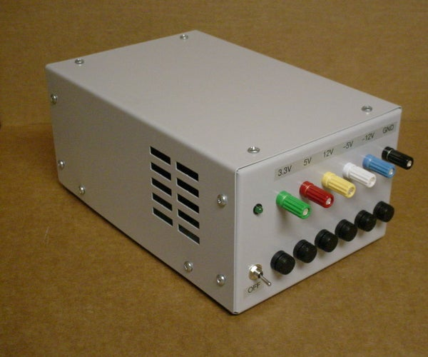 ATX Workbench Power Supply Project