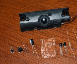 DIY an Air Raid Siren With Resistors and Capacitors and Transistors