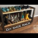 Modern Rustic Boot/Shoe Rack