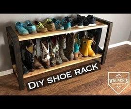 Modern Rustic Boot/Shoe Rack