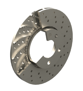 High Performance Metal Brake Disc With TEG Insert