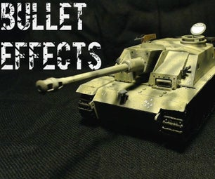 Bullet Effects on Scale Models
