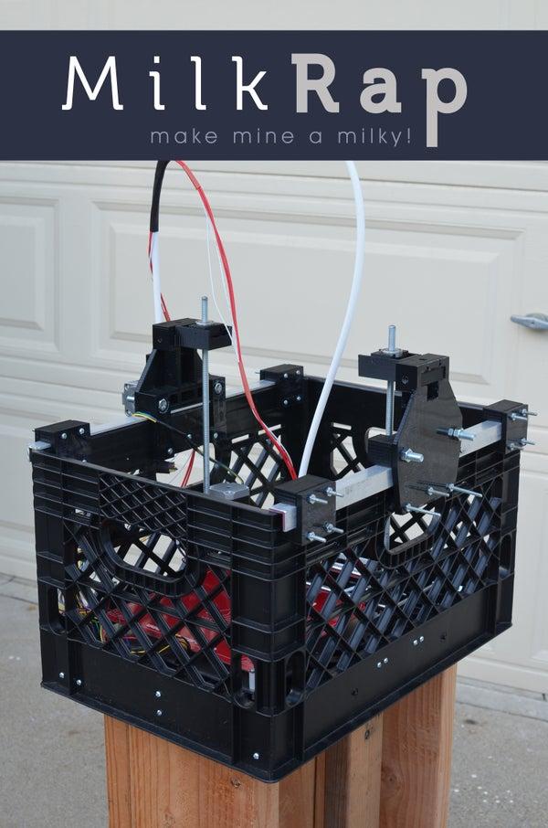 MilkRap (Milk Crate RepRap)