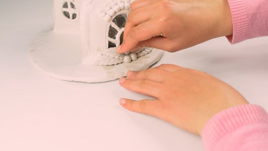 Building Paper Clay Sweet Pieces