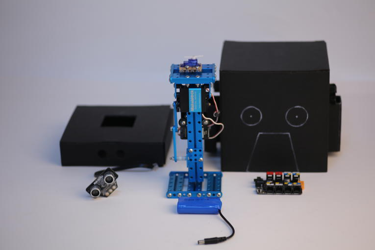 Picture of Craven Box -- Halloween Themed Robots
