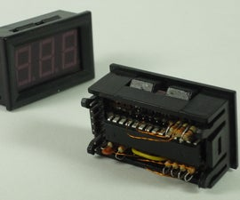 PANEL MOUNT 7 SEGMENT DISPLAY WITH EMBEDDED ARDUINO