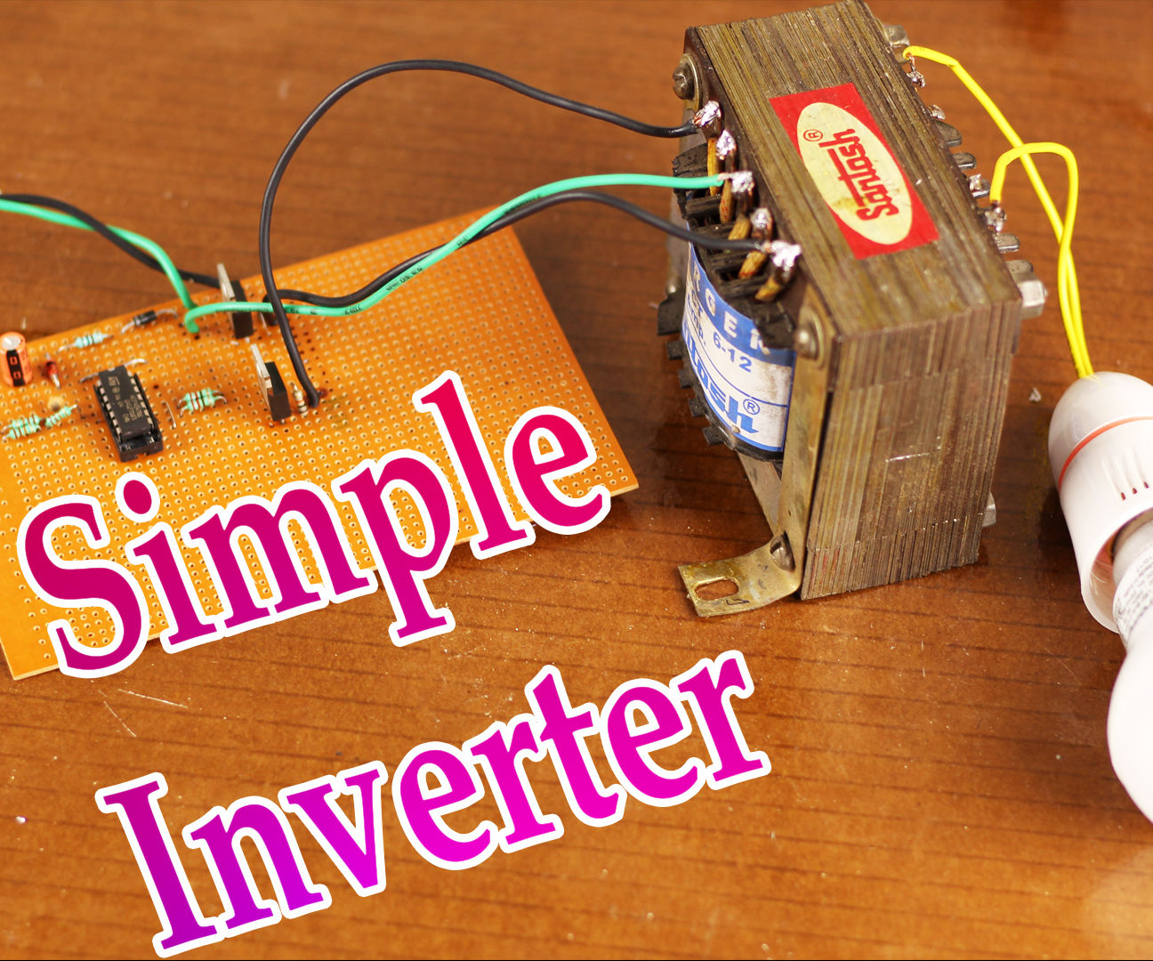 Inverter 12v To 220v 100w By Transistor Circuit Wiring Diagrams