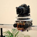 Motorized Remote Control Camera Slider With Panning (Prototype)