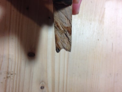 Make a Hollow for the Drill