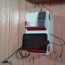 Cell Phone Dock Charging Station from Scrap Materials