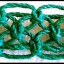 DIY How to Tie an Alternating Square Knot - 8 Strand Loose Version