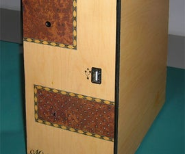 Multimedia PC / Low-Power File Server, Recycled