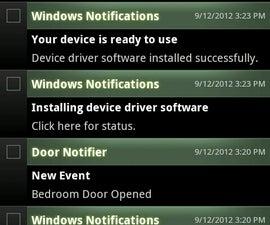 Notify My Android Door Alerts
