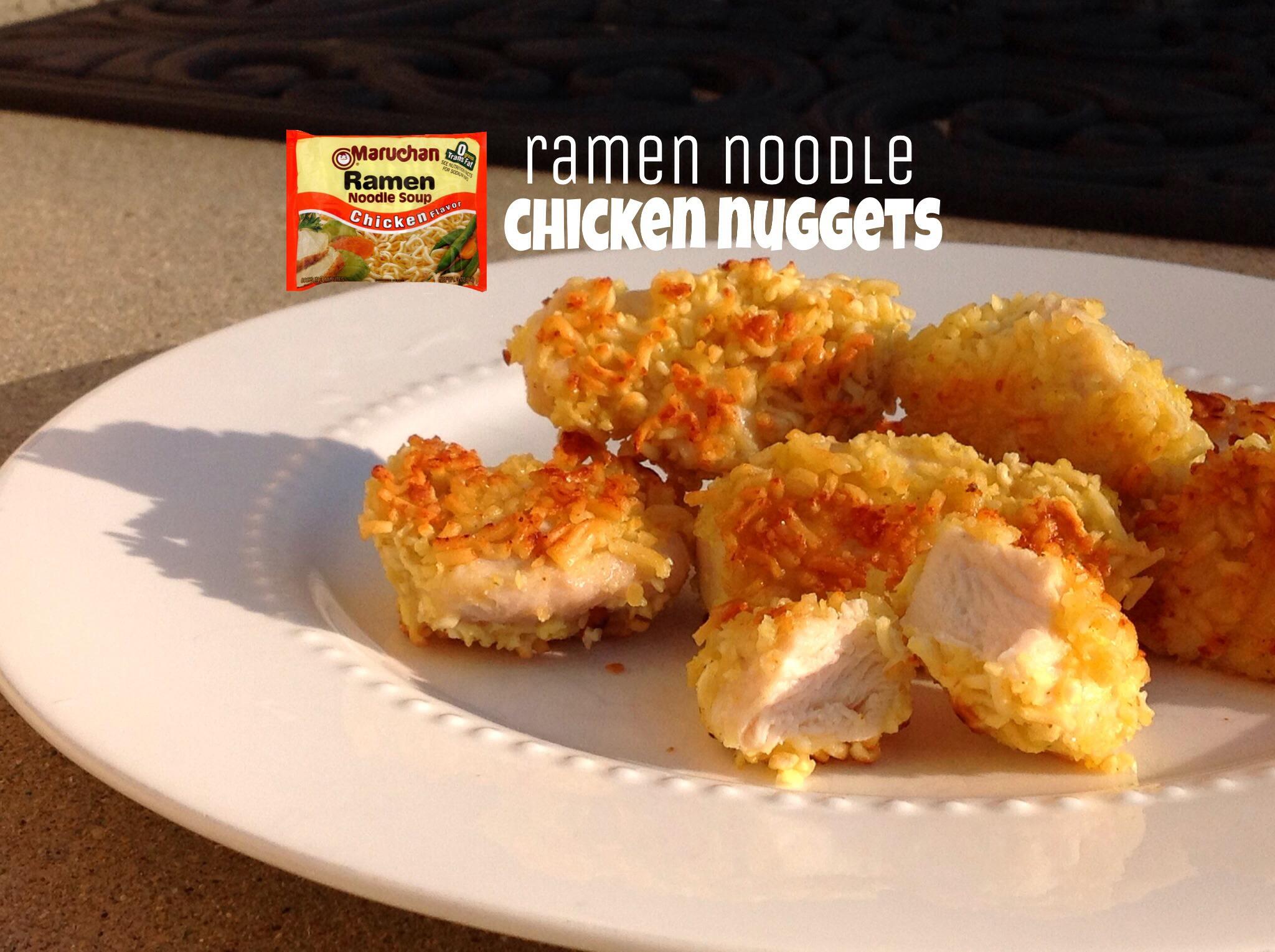 Picture of Ramen Noodle Chicken Nuggets