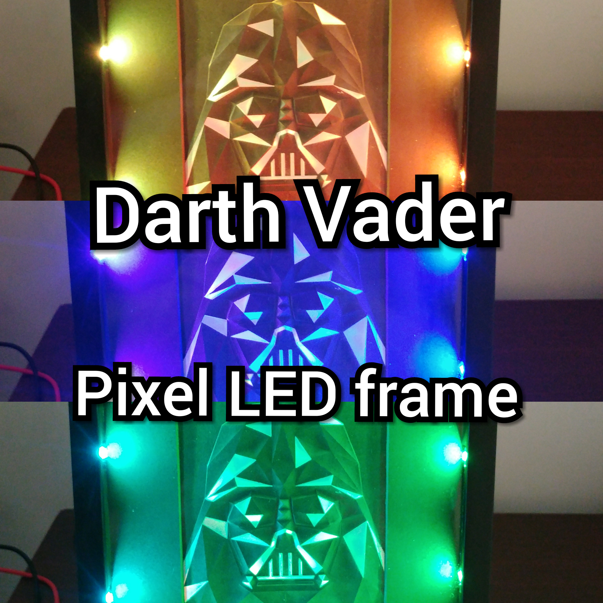Picture of Neo Pixel LED Picture Frame