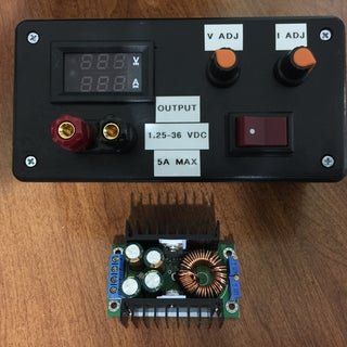 Easy and Cheap Lab Regulator for Any PSU