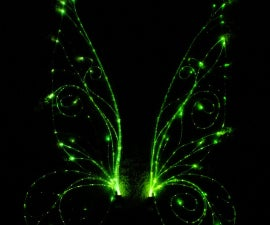 Made with Magic Fiber Optic Wings