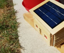 Connected Letterbox Solar Powered