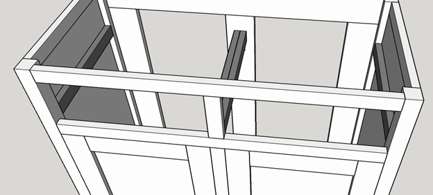 Picture of Drawer Rail Supports