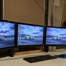 Build an Adjustable Triple Monitor Stand