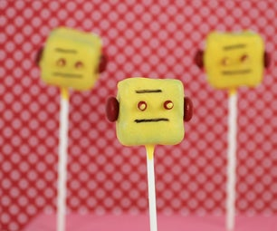 Instructable Robot Cake Pop