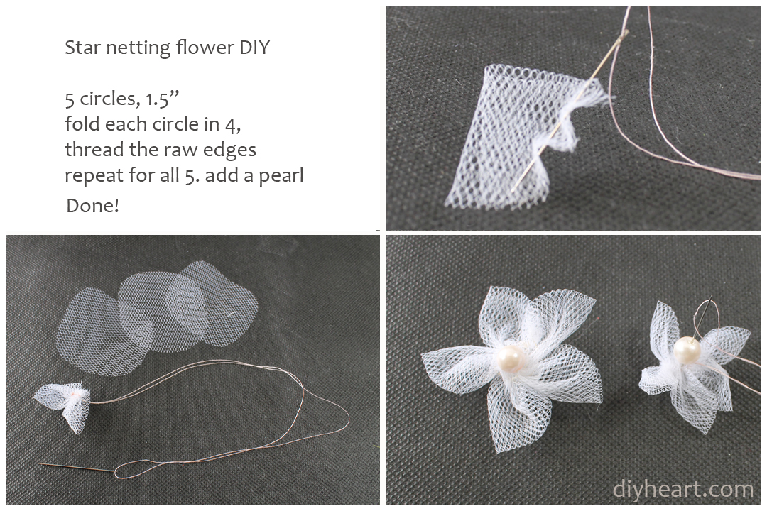 Picture of Star Shape Netting Flower