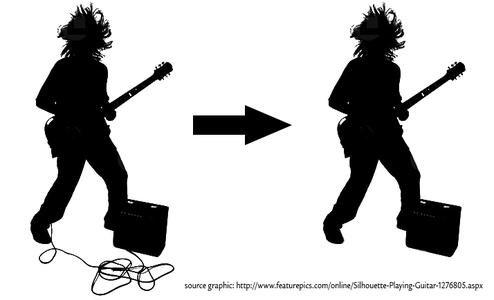 FM-based Wireless Electric Guitar!