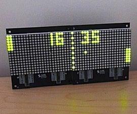 Pong Clock