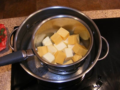 """Melt the """"Cheese"""" and Butter"""